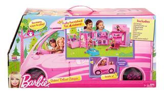 Barbie 房车  + 小仙女