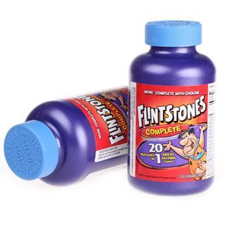 拜耳 FlintStones 儿童复合维生素/矿物质咀嚼片200粒