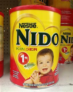 美国直邮 雀巢Nestle NIDO一岁以上儿童奶粉 含益生元1600g