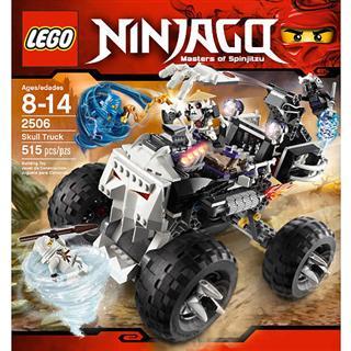 【超级奶爸】美国直邮 乐高/LEGO 2506 骷髅头卡车