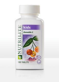 AMWAY 美产纽崔莱 儿童维生素C嚼片 A5353