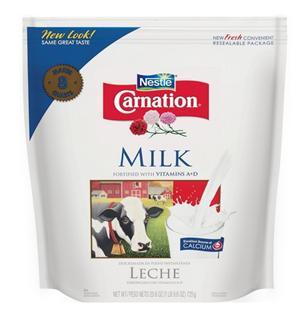 雀巢Carnation 美国进口直邮三花脱脂淡奶粉 成人 孕妇 中老年