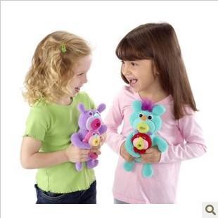 直邮 美国Fisher Price费雪玩偶小精灵 音乐毛绒公仔玩具 双人版