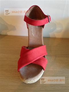 Foxxy美代 美国直邮 TOMS 2013新款 绑带凉鞋