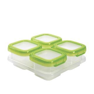 OXO Tot辅食盒 食物密封便携盒 可微波/可冷冻S054S 4OZ