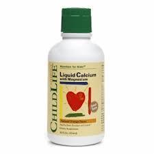 CHILDLIFE 液体钙镁补充液 桔子味 474ML