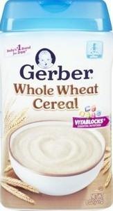 Gerber嘉宝二段燕麦谷物米粉227g 六个月以上