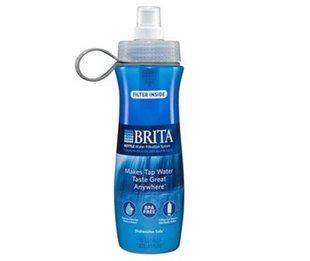 免运费包美国直邮BRITA碧然德滤水杯净水瓶运动水壶20oz提供小票