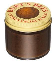 美国 Burt's Bees 小蜜蜂 天然柑橘脸部去角质霜 (2oz)