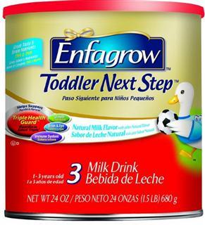 美赞臣Enfamil Enfagrow Premium 3段三段奶粉 680gX8 原味/香草味