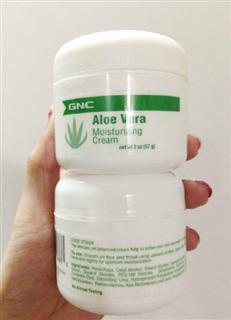 GNC芦荟保湿霜  99%纯度保湿祛痘控油