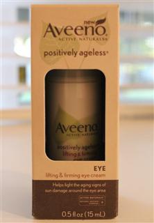 满200包直邮Aveeno香菇精华活性抗老化紧致眼霜15ml