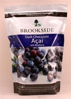美国直邮Brookside Dark Chocolate Blueberry蓝莓味黑巧克力2磅