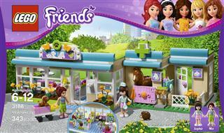 乐高3188 LEGO乐高女孩系列FriendsL3188 心湖宠物医院