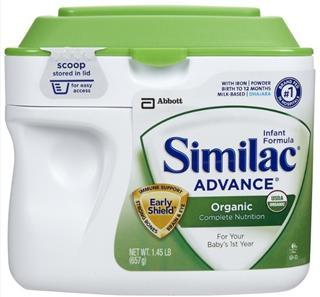 美国直邮 美国雅培 一段Similac Organic 有机奶粉 零污染