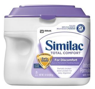 【两罐包邮价】Similac 雅培 1段金盾适合消化不良婴儿奶粉 638g