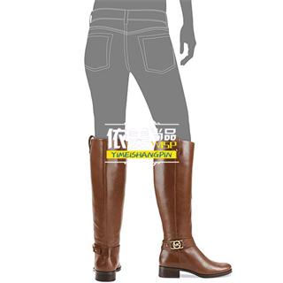 依美尚品  Michael Kors Boots, 新款牛皮骑士长靴