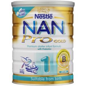 雀巢金装能恩Pro一段婴儿奶粉800g Nestle NAN Pro Baby Formula1