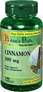 美国直邮Puritan's2瓶肉桂精华胶囊调节血糖预防糖尿病100粒
