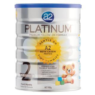 A2 Platinum白金高端婴儿奶粉2段6罐装,澳洲直邮实价代购