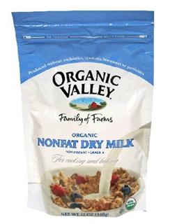 美国原装 Organic Valley 成人/老年人有机脱脂奶粉 340g