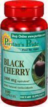 2瓶美国直邮Puritan's黑樱桃精华 改善痛风降低尿酸关节保健