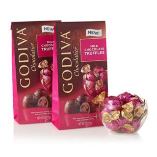 情人节礼物 GODIVA歌帝梵 相拥亲吻松露奶油巧克力小礼装 20粒