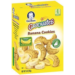 Gerber嘉宝香蕉磨牙饼干 142克