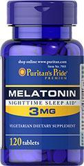 (5瓶装) 褪黑素(保护DNA,防癌,抗衰老,促进睡眠,提高睡眠质量)