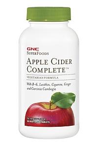 美国GNC 加强型苹果醋酸/苹果酸/苹果醋 90粒 减肥减脂纤体瘦身
