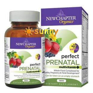 免运费!美国直邮New Chapter 完美孕宝孕妇综合营养素 192片