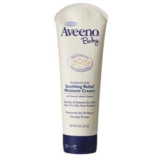 【美国直邮】Aveeno Baby婴儿天然燕麦舒缓润肤霜227g