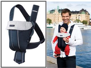 【现货】美国原装 BABYBJORN 经典抱婴袋,婴儿背袋