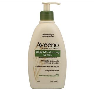 【美国直邮】Aveeno天然燕麦高效保湿润肤身体乳液(成人用)