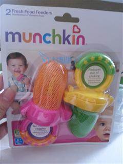 美国Munchkin新鲜食物咬咬袋 2个装