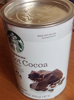 美国直邮 Starbucks星巴克精选热可可粉/热巧克力冲饮850g