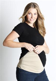 【美国代购直邮】贝利安雅belly armor银纤维%99防辐射孕妇托腹带