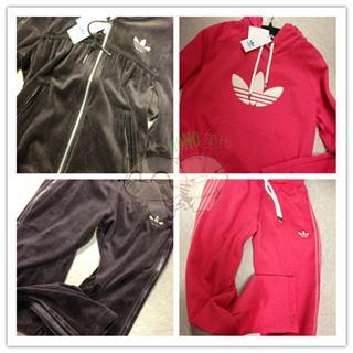 美国代购 阿迪达斯/Addidas  女士套装 卫衣卫裤一套 单件499