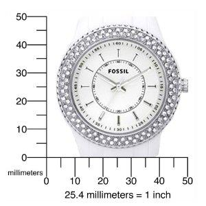 美国直邮 fossil ES2444化石贝壳女士手表
