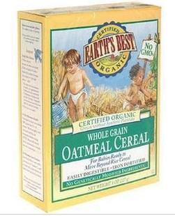 【美国直邮】世界最好 有机高铁燕麦婴儿米粉/辅食 6M+