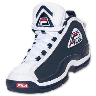 美国代购专柜正品2013年新款 Fila 96 斐乐男子经典复刻篮球鞋
