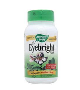 免运费!包美国直邮Nature's Way天然小米草精华100粒 保护眼睛