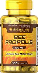 (5瓶装)天然花粉蜂胶囊(提高免疫力,调节血脂,护肝解肝毒,护肤美