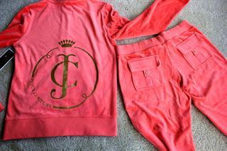 开心淘美国 Juicy Couture 天鹅绒卫衣/套装