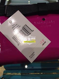 依美尚品  Kate Spade PWRU3518 时尚甜美蝴蝶结长款拉链钱包20