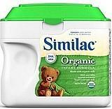 美国原装雅培SIMILAC一段/1段有机奶粉 657g(4罐起直邮)