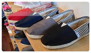Foxxy 美代 美国直邮 TOMS 麻底 校园风 帆布鞋
