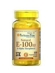 【2瓶】Puritan's Pride(0260) 天然维生素E软胶囊