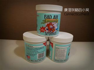 【代购】美国Bad Air Sponge超级空气净化剂白宫御用除甲醛污染