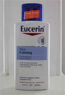 美国直邮 Eucerin优色林抗敏保湿薄荷燕麦舒缓止痒乳液200ml